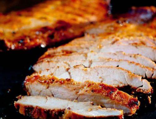 Filetto di maiale alla griglia, gegrilde varkenshaas