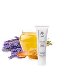 Handcrème met honing en lavendel