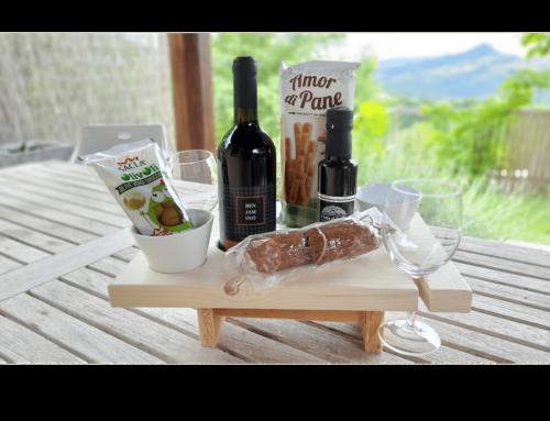 NIEUW! De antipasto wijn/olijfolie Caddy