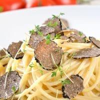Spaghetti met truffel